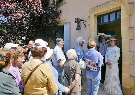 Visite guidée au Bournat