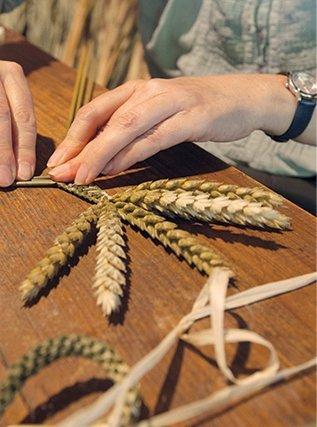 tressage blé bournat