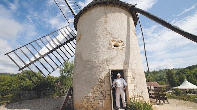 Moulin et son moulinier